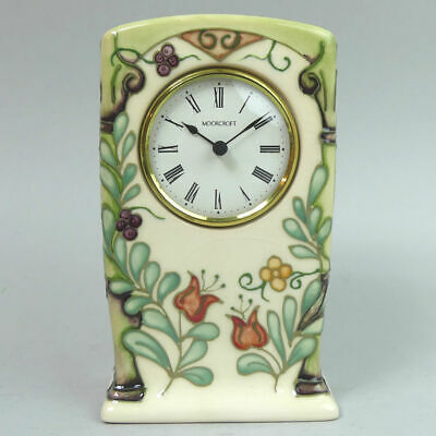 Moorcroft Ltd Edition Trellis Mantle Clock C.1994 • 155£