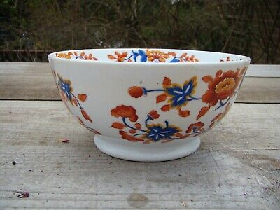 Handpainted Footed Bowl Unmarked ? Enamelled ? Possibly Chinese Export Ware? • 12£
