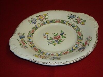 Booths Silicon China BROCADE Sandwich Cake Serving Plate, Server Dish • 18£