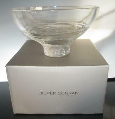 Stuart Crystal Jasper Conran STRATA Footed Bowl 6  (Boxed) • 24.99£