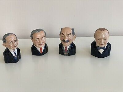 Bairstow Manor Collectables 4 British Prime Ministers Ltd Editions • 65£