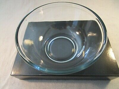 Vintage Large Pyrex Clear Glass Mixing Bowl , 23 X 10 Cm High • 10.95£