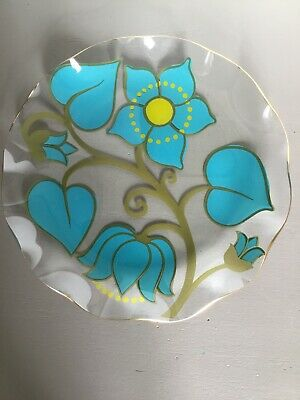 MCM Modernist CHANCE 'Canterbury' Glass Plate/Dish/Bowl #5431 • 16.99£