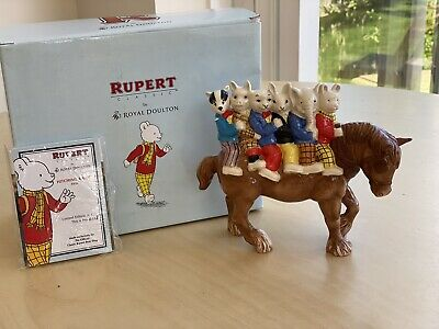 Royal Doulton Rupert Hitching A Ride Ltd Edition  • 125£
