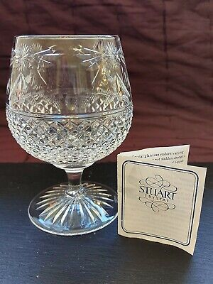 Stuart Crystal Brandy Glass. Beaconsfield 1988-2004 • 13£