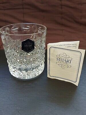 Stuart Crystal Beaconsfield  Rummer Whisky Glass   3  Unused/new • 12.50£
