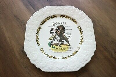 Bovril Drink Victorian Advertising Old Advert Plate Vintage Lord Nelson Pottery • 16.50£