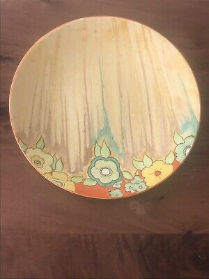 Clarice Cliff Jonquil Dished Plate - 23cms • 78£