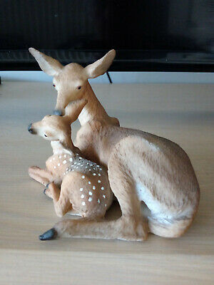 Border Fine Arts Deer And Fawn Figurine (Stone Resin)United Design Corp USA • 24.55£