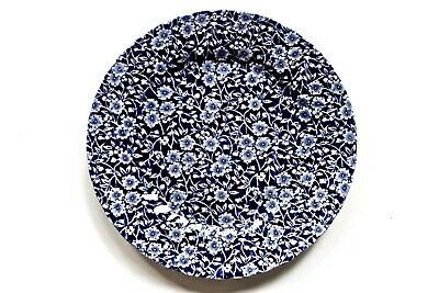 Churchill China Royal Wessex Victorian Calico Blue & White Chelsea Plate  • 8.95£