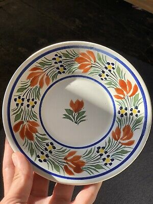 Henriot Quimper Pottery Small Plate • 13.10£
