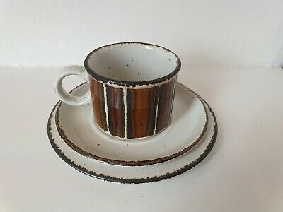 MIDWINTER Stonehenge 'Earth' Cup & Saucer With Side Plate • 9.99£