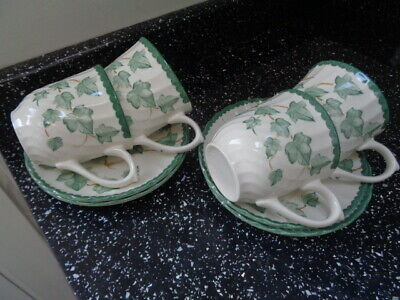 Bhs Country Vine Cups And Saucers X 4  • 20£