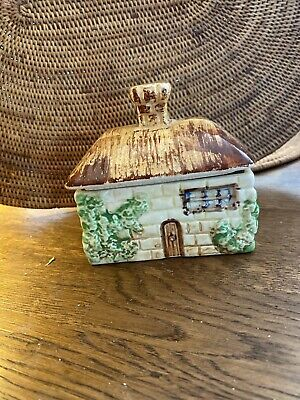 Beswick 244 Sugar Pot Cottage Style 9cm By 7cm Approx • 3£