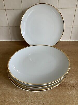 Thomas China - Medaillon Wide / Thick Gold Band - 5 X 26 Cm Dinner Plates • 30£