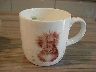2 Wrendale Mugs Royal Worcester Red Squirrel & Pheasant  Fine Bone China • 5.50£