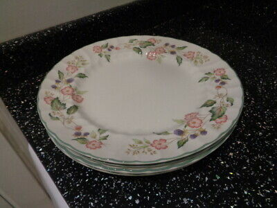 Bhs Victorian Rose Large Dinner Plates X 6 • 36£