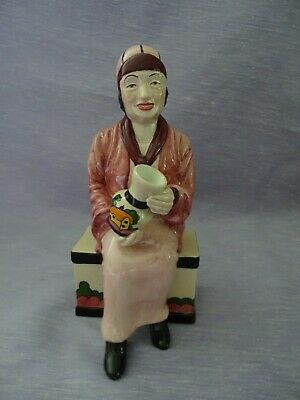 Manor Pottery Limited Edition Figurine - Clarice Cliff • 9.99£