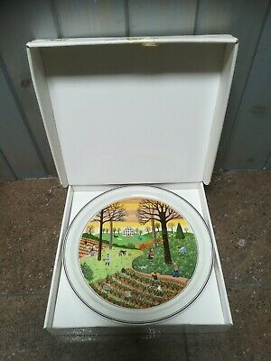 Villeroy & Boch - Naif - Laplau - Four Seasons Plate - Autumn  • 18£