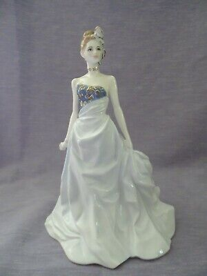 Royal Worcester Lady Figurine Of The Year January 1998 - Isabelle • 9.99£
