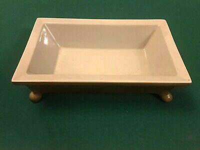 Beswick 2163 Oblong Dish With Legs Pot Vintage Used • 20£