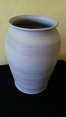 Beautiful Hand Made Lilac Vase Signed By Artist • 10£