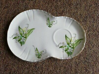Royal Grafton Jacobean  Saucer Sandwich Plate  Lily Of The Valley  • 8.99£