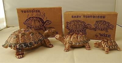 Wade Tortoises - 3 In Original Boxes - 6 In Total        Gc60 • 3.99£