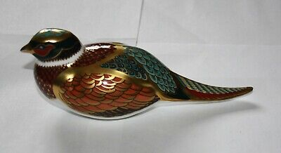 Royal Crown Derby Paperweight - Collectors Guild Woodland Pheasant • 16£