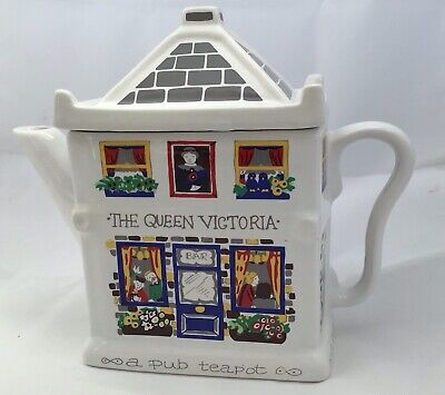 Vintage Novelty English Life Teapot By Wade   Queen Victoria Pub Great Condition • 5.99£