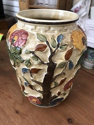 Antique Vase. Indian Tree Hand Painted  H.j Wood • 3.20£
