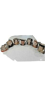 Henry Vlll And Six Wives Royal Doulton Toby Jugs Large • 150£