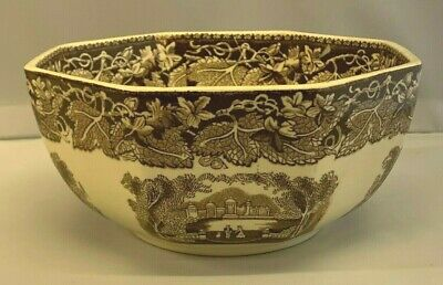 Lovely Masons Ironstone Vista Octagonal 6.5  Fruit Bowl In EXCELLENT CONDITION • 14.99£