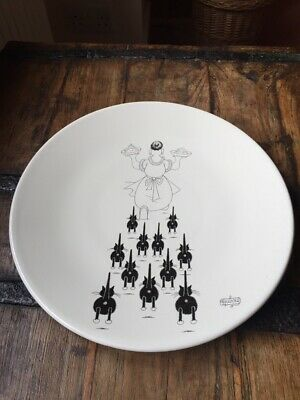 Dubout Cats Plate  • 18£