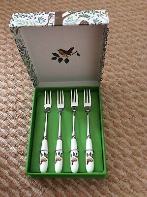 Portmeirion Enchanted Tree Set Of 4 Pastry Forks • 3.60£