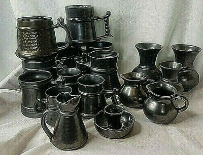 Vintage Prinknash Abbey Pottery Job Lot Collection/ Tankards/Vase/Jugs  • 34.99£