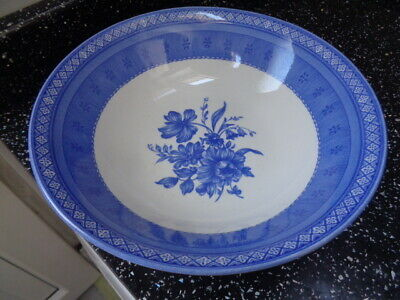 Churchill Out Of The Blue Serving / Fruit Bowl • 15£