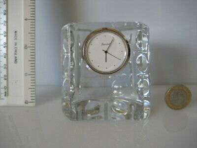 Rare Baccarat France Glass Paperweight Clock Signed • 99.99£