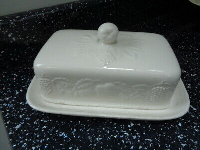 Bhs Lincoln Lidded Butter Dish • 20£