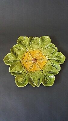 BRETBY MAJOLICA PLATE No.1766 IVY LEAF DESIGN Ault Tooth C1895  • 30£