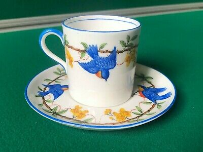 Aynsley Bone China Cup And Saucer Reg No 740866 Used Vintage Collectable  • 20£