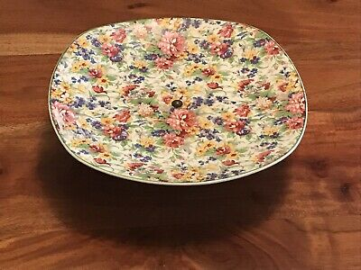 Midwinter Brama Chintz Cake Stand • 15£