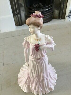 Coalport Fine Figurine - Lady Rose At The Ascot Ball No 3 Of The Limited Edition • 9.10£