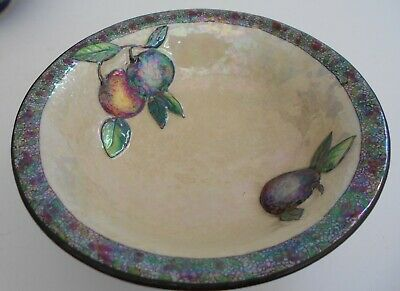 Vintage Carlton Ware 3 Footed Hand Painted Lustre Ware Bowl. • 15.99£