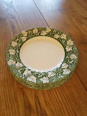 ■■4 Churchill Fine English Tableware Ivy Tea Plates  Free Post  • 17.95£
