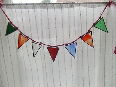 Stained Glass Bunting - 7 Flags • 15.50£