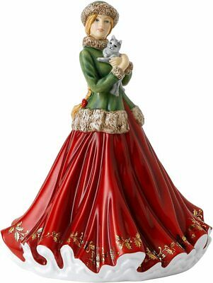 Royal Doulton Lady Figure 2020 Christmas Treat New Boxed • 129.95£