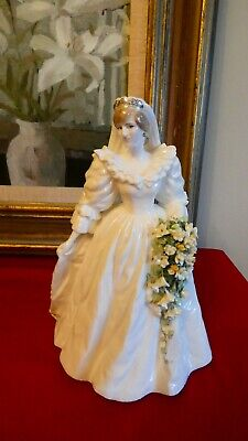 Coalport  Diana Princess Of Wales  Figurine  - John Bromley - Limited Edition • 110£