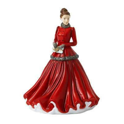 Royal Doulton Petite Lady Figure Christmas 2020 Winter Elegance - New In Box • 59.95£