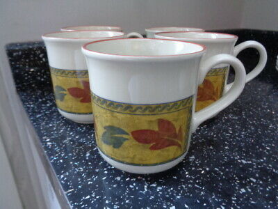 Staffordshire Savannah Mugs X 5 • 25£